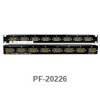 8 Port V.35 Feed-Thru Patch Panel 1 RU