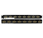 PF 20226<br/>8 Port V.35 Feed-Thru Patch Panel 1 RU